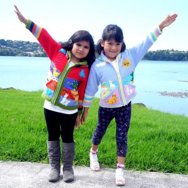 Children's Hand Embroidered Jumper