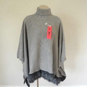 Alpino Style Poncho 100% Alpaca Fibre