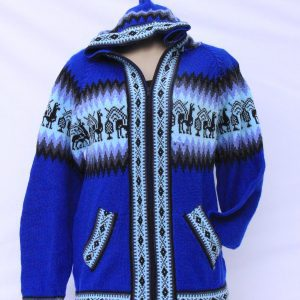 Colourful Alpaca Jumper