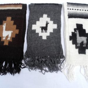 Alpaca Hand Knitted Scarves