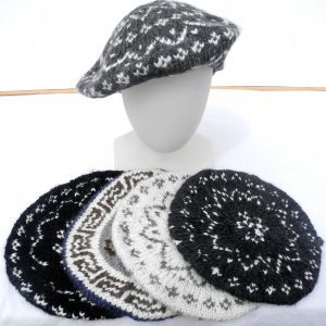 Hand Knitted Acrylic Berets